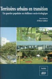 Territoires urbains en transition - Couverture - Format classique