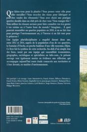Territoires urbains en transition - 4ème de couverture - Format classique