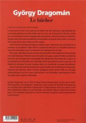 Le bûcher - 4ème de couverture - Format classique