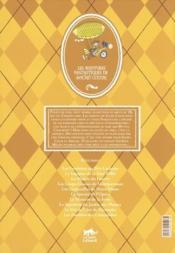 Les aventures fantastiques de Sacré Coeur ; Sacré Coeur et l'automate des Buttes-Chaumont - 4ème de couverture - Format classique