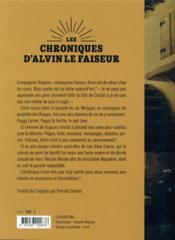 Les chroniques d'Alvin le Faiseur T.4 ; le compagnon - 4ème de couverture - Format classique