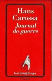 Journal De Guerre - Couverture - Format classique