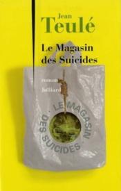 Le magasin des suicides - Couverture - Format classique