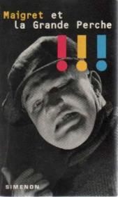 Maigret Et La Grande - Couverture - Format classique