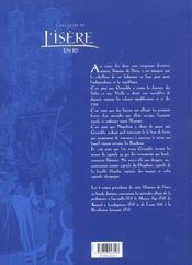 L'histoire de l'isere en bd - tome 05 - 4ème de couverture - Format classique