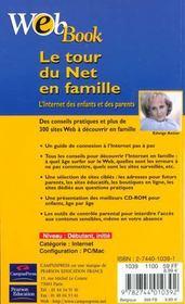 Webbook Internet Des Enfants Et Des Parents - 4ème de couverture - Format classique