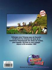 Une Aventure Des Petits Citoyens ; Panique Au Pacoolici - 4ème de couverture - Format classique