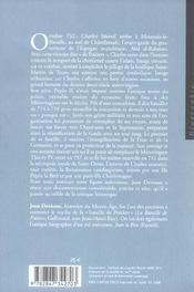 Charles Martel - 4ème de couverture - Format classique