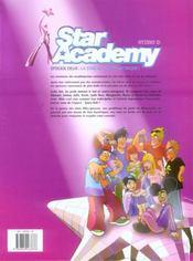 Star academy t.2 ; la star ac contre-attaque - 4ème de couverture - Format classique