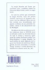 Rituel de magie blanche t.1 ; formulaire de prières anciennes - 4ème de couverture - Format classique