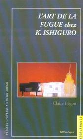 L art de la fugue chez k ishiguro - Intérieur - Format classique
