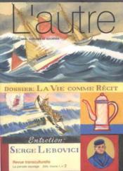 Revue L'Autre T.2 ; Récits De Vie - Couverture - Format classique