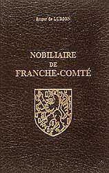 Nobiliaire De Franche-Comte - Couverture - Format classique