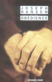 Obedience - Intérieur - Format classique