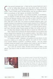 Un avocat au xxeme siecle - 4ème de couverture - Format classique