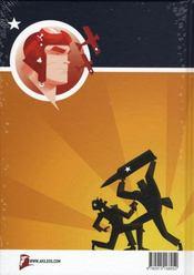 Rex Steele ; nazi smasher - 4ème de couverture - Format classique