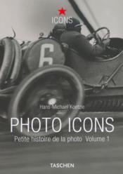 Petite histoire de la photo t.1 - Couverture - Format classique