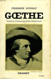 Goethe. - Couverture - Format classique