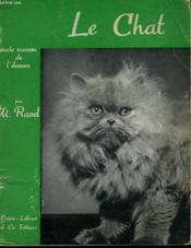 Le Chat. Vade-Mecum De L'Eleveur - Couverture - Format classique