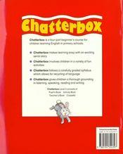Chatterbox 3: Pupil'S Book - 4ème de couverture - Format classique