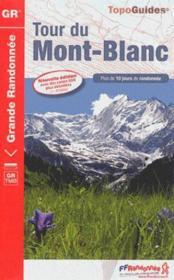 Tour du Mont-Blanc (édition 2014) - Couverture - Format classique