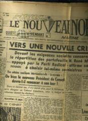 Le Nouveau Nord Maritime N°920 - 5eme Annee - Dimanche 23 Ocotbre 1949. - Couverture - Format classique