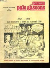 Païs Gascons - N°100 - Gener - Heurer - Couverture - Format classique