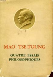 Quatre Essais Philosophiques - Couverture - Format classique