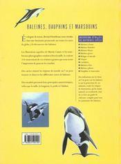 Les Baleines, Les Dauphins Et Les Marsouins - 4ème de couverture - Format classique