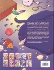 Mistinguette & Cartoon T.2 ; deuxième chat pitre - 4ème de couverture - Format classique