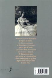 Anna Pavlova ; l'incomparable - 4ème de couverture - Format classique