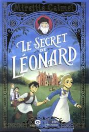 Le secret de Léonard - Couverture - Format classique