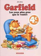 Garfield T.3 ; les yeux plus gros que le ventre - Couverture - Format classique