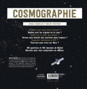 Cosmographie : comprendre l'espace en 100 dessins et schémas - 4ème de couverture - Format classique