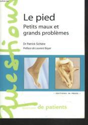 Pied (le) - petit maux et grands problemes - Couverture - Format classique