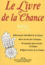 Le livre de la chance - Couverture - Format classique