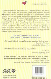 Miracles de noel ; des histoires inspirantes sur la vraie magie du temps des fetes - 4ème de couverture - Format classique