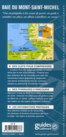 Baie du mont-Saint-Michel ; le mont-Saint-Michel, Cancale, Avranches - 4ème de couverture - Format classique