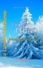 Lumière d'hiver ; messages de l'au-delà - Couverture - Format classique