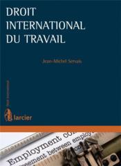 Droit international du travail - Couverture - Format classique
