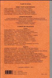 Justice Administrative Et Etat De Droit En France Et Au Maghreb - 4ème de couverture - Format classique