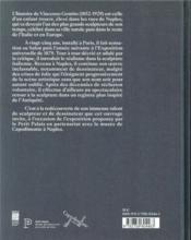 Gemito, le sculpteur de l'âme napolitaine - 4ème de couverture - Format classique