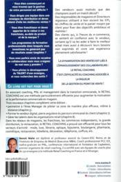 Retail coaching (3e édition) - 4ème de couverture - Format classique