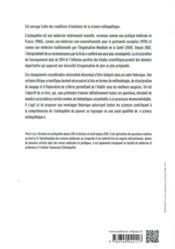 Introduction à la science ostéopathique ; approche épistémologique - 4ème de couverture - Format classique