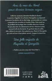 Les folles enquêtes de Magritte et Georgette T.2 ; à Knokke-le-Zoute ! - 4ème de couverture - Format classique
