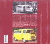 Renault Estafette De Mon Pere - 4ème de couverture - Format classique