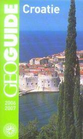 Geoguide ; Croatie (Edition 2006-2007) - Intérieur - Format classique
