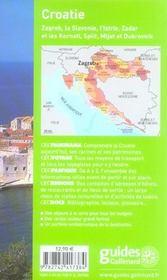 Geoguide ; Croatie (Edition 2006-2007) - 4ème de couverture - Format classique