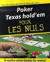 Poker texas hold'em pour les nuls - Intérieur - Format classique