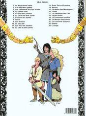 Thorgal T.12 ; la cité du dieu perdu - 4ème de couverture - Format classique